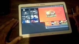 getlinkyoutube.com-Video editing  on the Samsung Galaxy note 10.1 2014