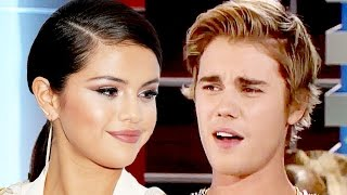 getlinkyoutube.com-Selena Gomez Reacts to Justin Bieber Apology Video