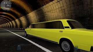 City Car Driving 1.5.3 Lada 2107 Stretchlimo TrackIR 4 Pro [1080P]