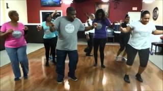 getlinkyoutube.com-Halfway Shuffle Line Dance