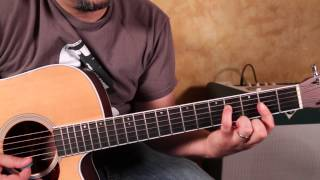 How to Play Harvest Moon by Neil Young  acoustic guitar songs - tutorial