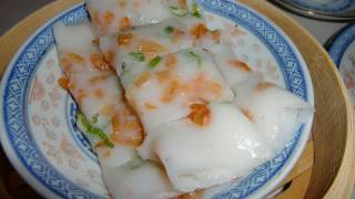 getlinkyoutube.com-Chinese steamed rice noodle rolls (Cheung Fun) Dim Sum, 教做蒸腸粉