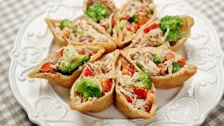 getlinkyoutube.com-다이어트 유부초밥만들기♥밥 없이 더 맛있게 만드는 레시피