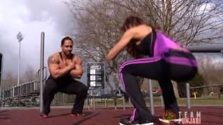 getlinkyoutube.com-Punjabi Bodybuilder Sandy Dosanjh - Sandra Wickham Fall Classic Winner