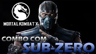 getlinkyoutube.com-Mortal Kombat X: Combo com Sub-Zero - TUTORIAL