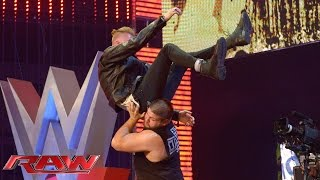 "getlinkyoutube.com-Machine Gun Kelly performs ""A Little More"": Raw, June 15, 2015"