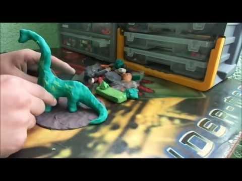 Reto plastilina (2) Dinosaurio (Mr :P)