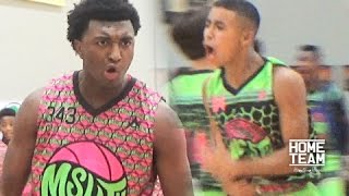 Kyree Walker & Julian Newman Put On A SHOW!! CRAZY Game at MSHTV Camp