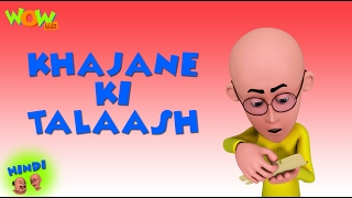 getlinkyoutube.com-Khajane Ki Talash - Motu Patlu in Hindi - 3D Animation Cartoon for Kids HD