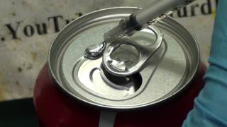 getlinkyoutube.com-Gallium Induced Structural Failure of a Coke Can