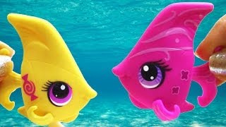 getlinkyoutube.com-LPS Angel Fish Candy Swirl Dream Collection Blind Bag Opening