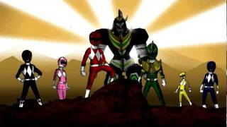 getlinkyoutube.com-Power Rangers Morphing Animation
