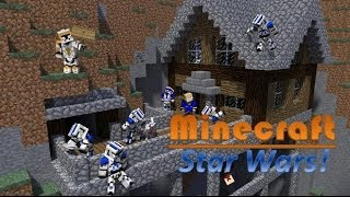 getlinkyoutube.com-Minecraft Star Wars - Clone Trooper