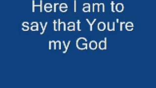 getlinkyoutube.com-Here I am to Worship - Chris Tomlin with lyrics