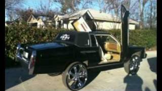 getlinkyoutube.com-Most Hated Car Club Black Cadillac Coupe DeVille On 28's