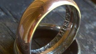 getlinkyoutube.com-wie macht man einen ring aus einer münze