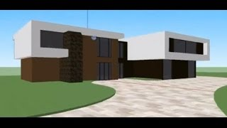 getlinkyoutube.com-Modern House Tutorial : Google Sketchup