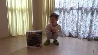 getlinkyoutube.com-Паук Чёрная вдова распаковка игрушки на Радио управлении Black Widow Spider unpacking R/C toy