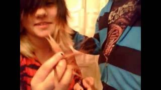 getlinkyoutube.com-Cutting my friend's Emo/scene hair!