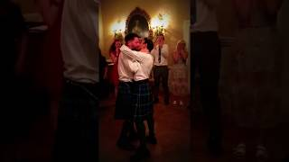 GAY PAKISTANI-SCOTTISH WEDDING!  Ceilidh and kiss! :)