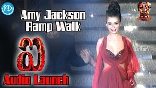 Amy Jackson Stunning Ramp Walk | I Movie Audio Launch | Chiyaan Vikram | Shankar | A.R. Rahman width=