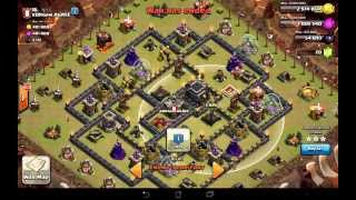 getlinkyoutube.com-NEW Elite TH9 Attack Strategy: Surgical Hogs
