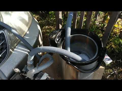 Промывка радиатора отопителя (печки) TOYOTA COROLLA NZE121 без снятия.