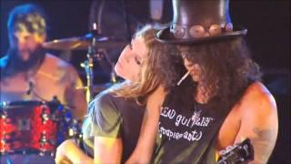 getlinkyoutube.com-Fergie & Slash - Sweet Child O' Mine + INTERVIEW