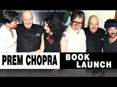 Celebs At Prem Chopra's Book Launch