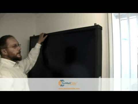 TitanPower-AL2DH Solar Thermal Flate Plate Collector