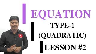 EQUATION_LESSON #2~Before x2 No constant