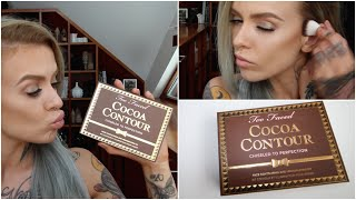 getlinkyoutube.com-(VEGAN) Too Faced Cocoa Contour Review & Demo- Rhian HY/ WIFELIFE
