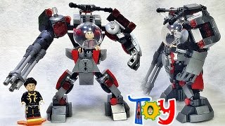 getlinkyoutube.com-sy 앤트맨 개미 로봇 머신 레고 짝퉁 장난감 조립 리뷰 Lego knockoff ant-man robot machine yellow jacket