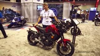 getlinkyoutube.com-2017 Yamaha FZ-09 at AIMExpo