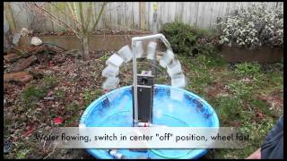 getlinkyoutube.com-School Science Fair Electricity Generating Waterwheel