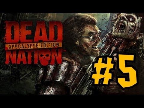 CO-OP Прохождение Dead Nation Apocalypse Edition PS4 - Мочим зомби с Freddy - Ч.5