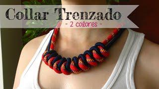 getlinkyoutube.com-Cómo hacer: Collar de nudos - Knotted necklace