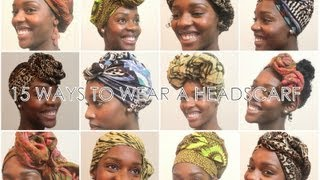 getlinkyoutube.com-How To: 15 Ways To Wear a Headscarf