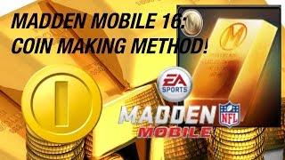 getlinkyoutube.com-MADDEN MOBILE 16: HOW TO MAKE COINS (SNIPING TUTORIAL)