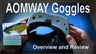 RC Reviews: AOMWAY Commander V1 FPV Goggles (Gearbest.com)