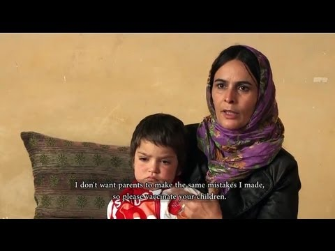 Battling measles in Afghanistan