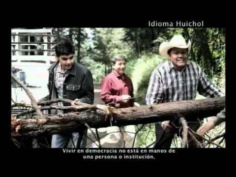INALI e IFE elaboran mensajes en lenguas indígenas / HUICHOL