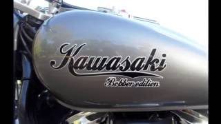 getlinkyoutube.com-BAZ#10 Kawasaki 900 VN BOBBER