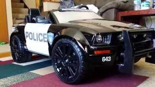 getlinkyoutube.com-Modified Power Wheels Mustang GT Project Barricade