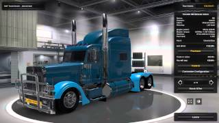 getlinkyoutube.com-Mod - PETERBILT 389 OPTIMUS PRIME | ETS2 | HD