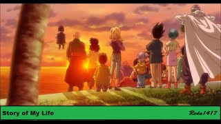 Story Of My Life [DBZ Couples AMV]