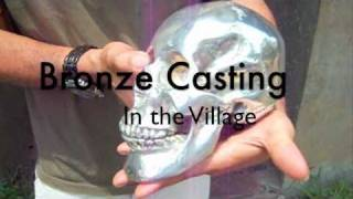 getlinkyoutube.com-Bronze Casting at a Small Village Foundry