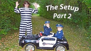getlinkyoutube.com-THE SETUP 2 Jail Escape Officer Ryan and Smalls Catch BAD GUY a Family Fun YouTube video