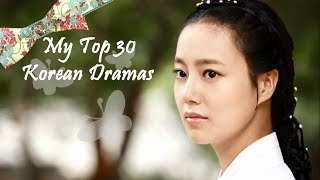 getlinkyoutube.com-My Top 30 Korean Dramas