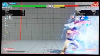 getlinkyoutube.com-Ryu Juggle Combos - SF5